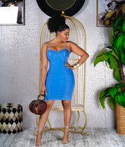Caracas denim dress
