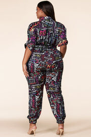 Funky Groove Utility Jumpsuit