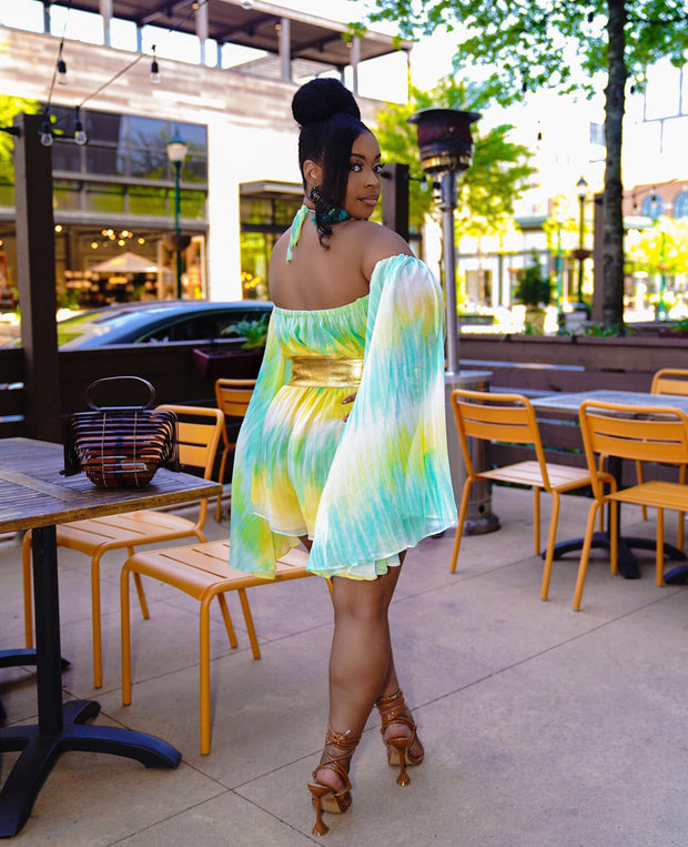 better in color off the shoulder Jumpsuit