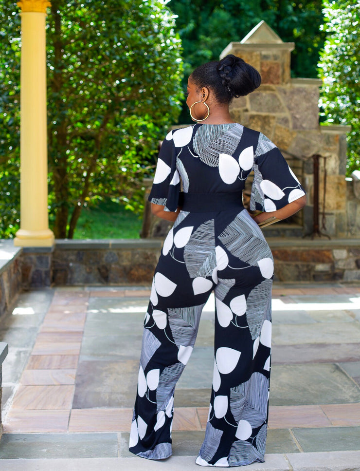 Over dot jumpsuit