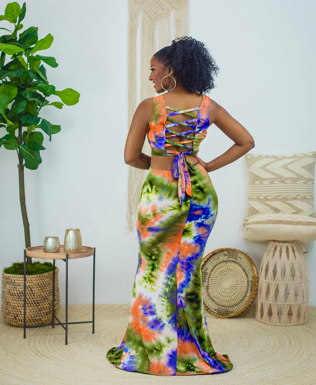Turn heads maxi dress
