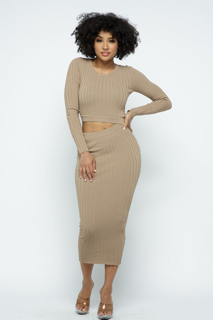 Kylie knit sweater dress