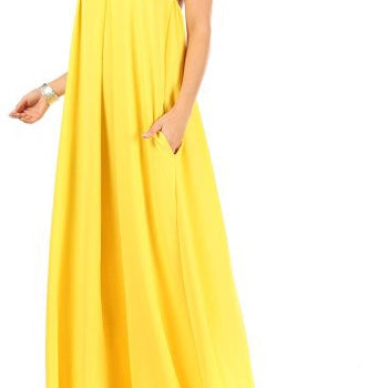 Marilla A Line maxi dress