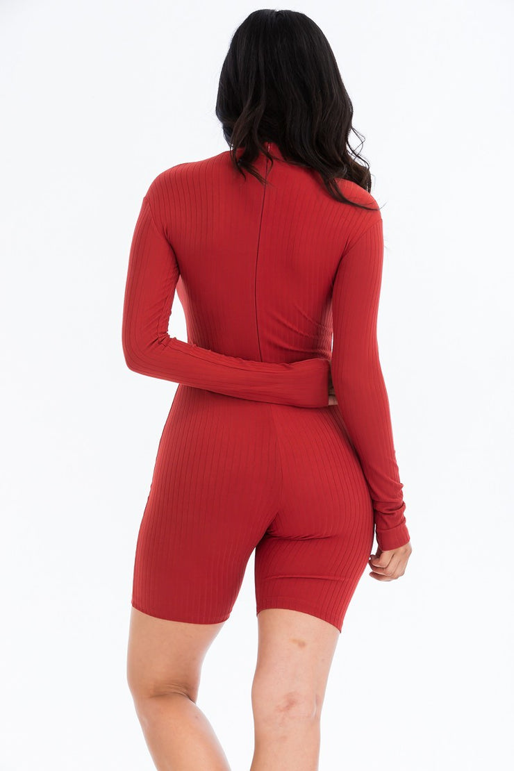 Antivia knit romper
