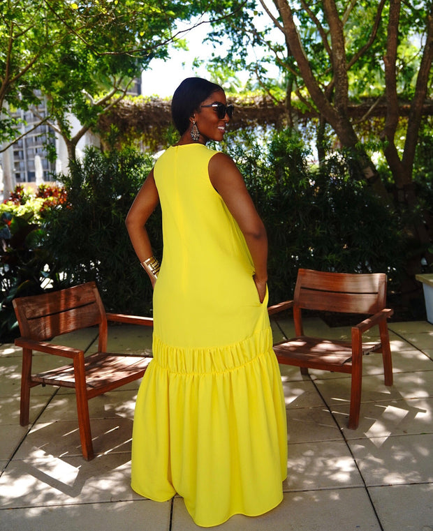 Free flowing maxi dress