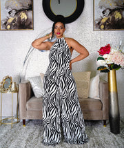 Material Girl wide leg jumpsuit