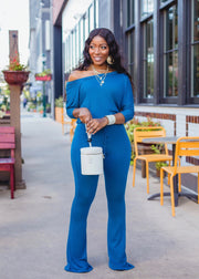 OFF SHOULDER AMMIE JUMPSUIT