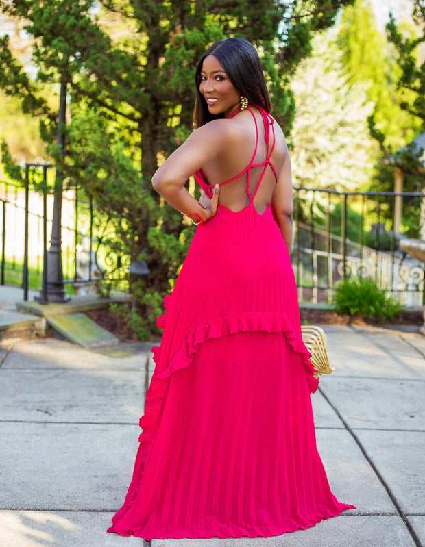 At First Glance maxi dress