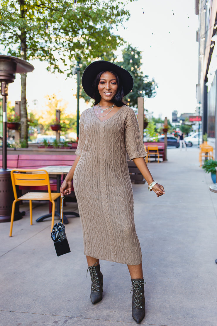 Hazel sweater dress