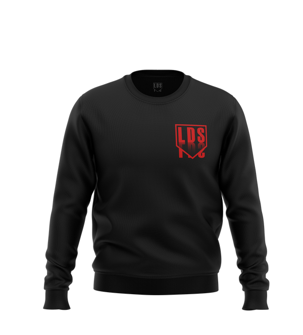 "Sweat ""LOGO"" - Noir/Rouge"