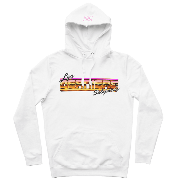 "Sweat-capuche ""Miami Vice"" - Blanc"