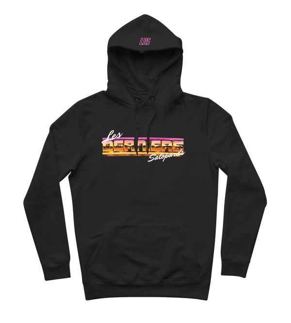 "Sweat-capuche ""Miami Vice"" - Noir"