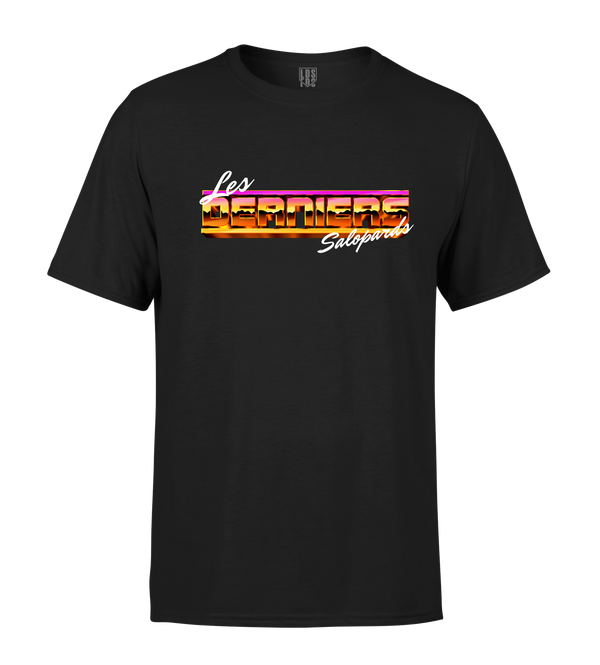 "T-shirt ""Miami Vice"" - Noir"