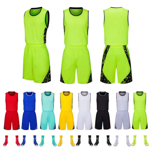 New Men and Women sports ball suit basketball clothing sweat-absorbent breathable and quick-drying, can be customized.