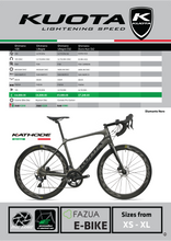Load image into Gallery viewer, KUOTA KATHODE E-BIKE