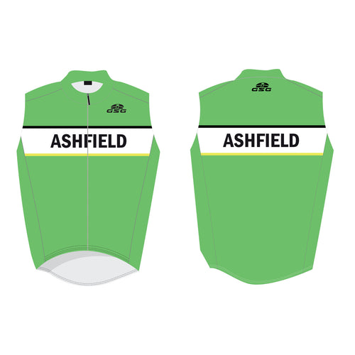 09071 / REFLECTIVE CYCLING GILET (VEST) UNISEX / ASHFIELD