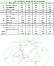 Load image into Gallery viewer, KUOTA KOUGAR ROSSO RIM FRAMESET