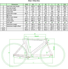 Load image into Gallery viewer, KUOTA KHAN TEAM ANDRONI FRAMESET