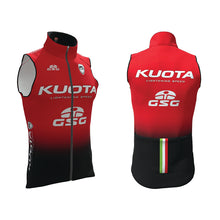 Load image into Gallery viewer, KUOTA TEAM REFLECTIVE GILET WITH REAR POCKETS (PRE ORDER)