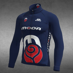 04182 / ELITE LONG SLEEVE JERSEY (ROUBAIX) / MODA
