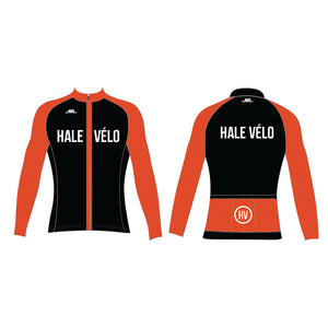 04121 / ELITE LONG SLEEVE JERSEY (ROUBAIX) / HALE VELO