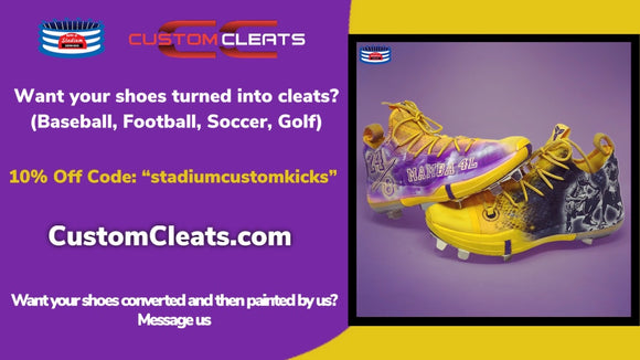 customize my own football cleats