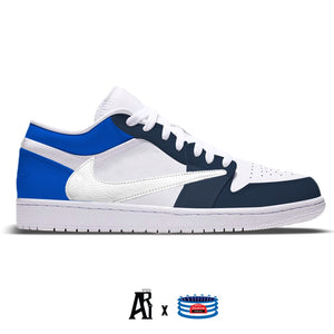 """Blues CJ"" Jordan 1 Low"