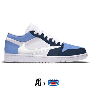 """Carolina CJ"" Jordan 1 Low"