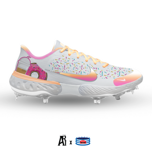 """Dunkin"" Nike Alpha Huarache Elite 3 Low Cleats"