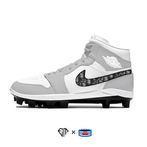 """Designer"" Jordan 1 Retro Cleats"