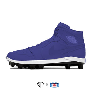 """Sports Drink- Grape"" Jordan 1 Retro Cleats"