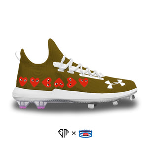 """Comme des Garçons"" Under Armour Harper 4 Low ST Cleats"