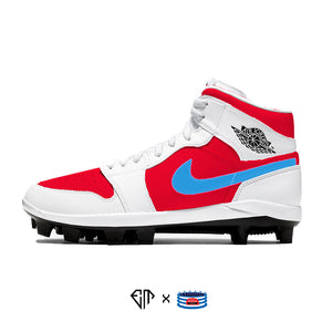 """Cards"" Jordan 1 Retro Cleats"