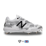 """Gray Camo"" New Balance 4040v5 Cleats"