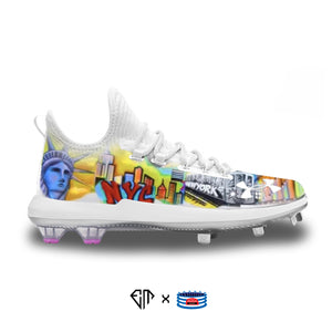 """NYC"" Under Armour Harper 4 Low ST Cleats"