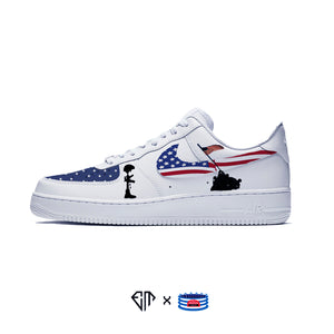 """USA"" Nike Air Force 1 Low"