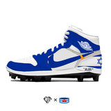 """Off-Israel"" Jordan 1 Retro Cleats"
