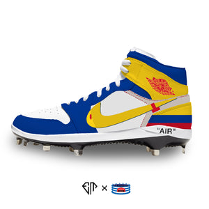 """Off-Colombia"" Jordan 1 Retro Cleats"