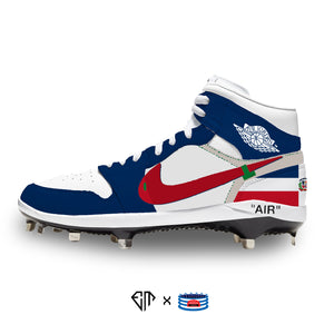 """Off-Dominican Republic"" Jordan 1 Retro Cleats"