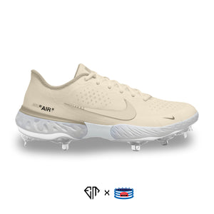"""OW Sail"" Nike Alpha Huarache Elite 3 Low Cleats"