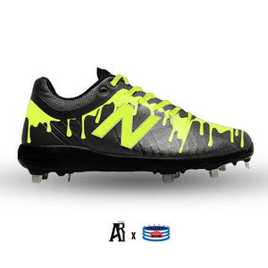 """Volt Drip"" New Balance 4040v5 Cleats"