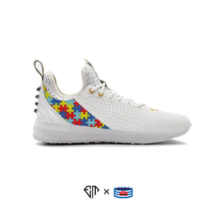 """Autism Awareness"" Under Armour Harper 5 Turf Shoes"
