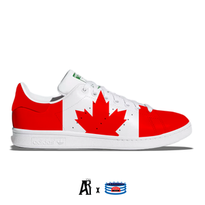 """Canada"" Adidas Stan Smith Casual Shoes"