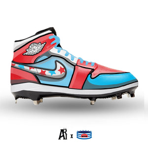 """Cartoon"" Jordan 1 Retro Cleats"
