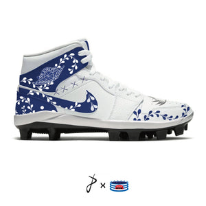 """Clase Azule"" Jordan 1 Retro Cleats"