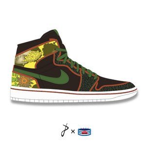 """De La Soul"" Jordan 1 Mid Shoes"