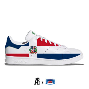 """Dominican Republic"" Adidas Stan Smith Casual Shoes"