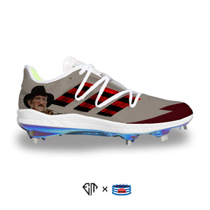 """Freddy Krueger"" Adidas Adizero Afterburner 7 Cleats"