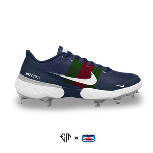 """G Stripes"" Nike Alpha Huarache Elite 3 Low Cleats"