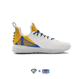 """Golden State"" Under Armour Harper 5 Turf Shoes"